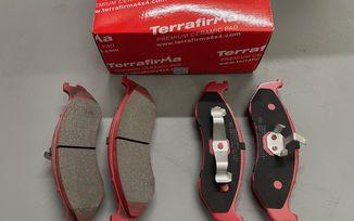 Front Ceramic Disc Brake Pad Set, (J5BM47598/4778058AC / JM-05709 / Terrafirma)