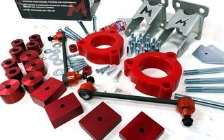 1.5'' Spacer Lift Kit, Renegade (TF1150 / JM-04446 / Terrafirma)