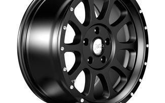 1450 Series Wheel, Black 17x8.5 (ET32), JL (1450.01 / JM-04558 / DuraTrail)