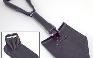 Heavy Duty Tri-Fold Recovery Shovel (15104.42 / JM-02421 / Rugged Ridge)
