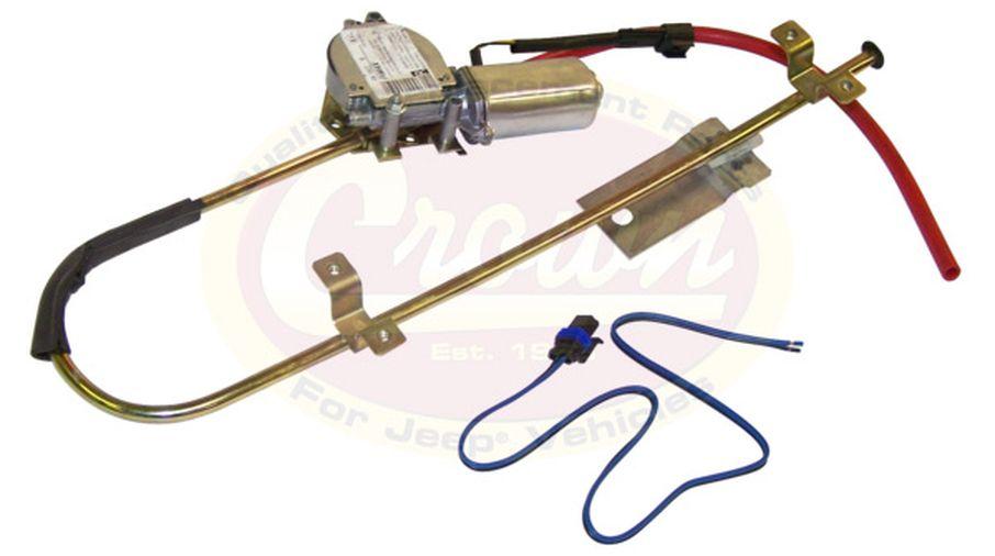 Electric Window Regulator (Right Rear), XJ (55154898 / JM-01541 / Crown Automotive)
