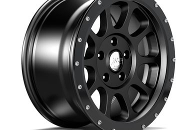 "17"" WR10 Black Anodized Wheel Ring (1458.21 / JM-05203 / DuraTrail)"