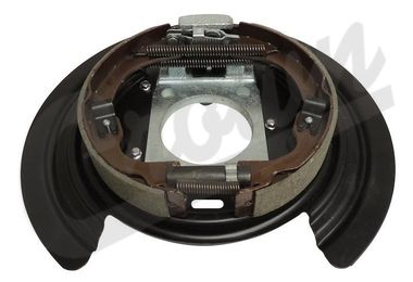 Backing Plate Assembly, Parking Brake (52125175AA / JM-04238 / Crown Automotive)