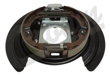 Backing Plate Assembly, Parking Brake (52125175AA / JM-04238 / Crown Automotive)