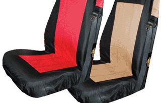 Front Seat Cover Set (03-06, Black/Red) (SCP20030 / JM-01203 / RT Off-Road)