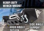 Front Recovery Bumper, XRC M.O.D, JK (76825 / JM-02332 / Smittybilt)