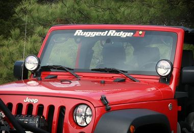 Decal Rugged Ridge Windshield Banner (12580.01 / JM-04326 / Rugged Ridge)