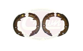 Parking Brake Shoe & Lining Set (5191215AA / JM-03243 / Crown Automotive)