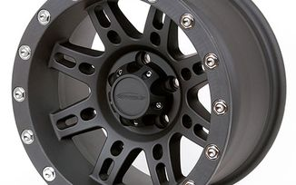 Series 7031 Alloy Wheel, 15X8 Black (7031-5865 / JM-03140 / Pro Comp)