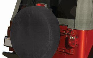 """Tire Cover, Blk Denim (33""""-35"""") (TC333535 / JM-01599! / RT Off-Road)"""