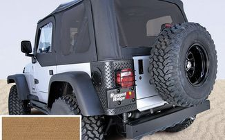 Replacement Soft Top Skin, Spice, TJ (13726.37 / JM-05078 / Rugged Ridge)
