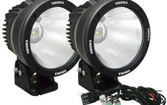 "6.7"" Cannon 50 Watt LED Driving Lights x 2 Kit (CTL-CPZ610KIT / JM-01857 / Vision X lighting)"