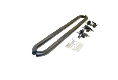 Black Tubular Side Steps, JK 4 Door (NB30054 / JM-00945 / RT Off-Road)