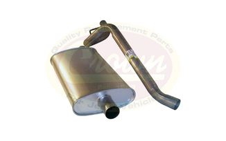 Muffler & Tailpipe (Oval Style) (52019138 / JM-01844 / Crown Automotive)
