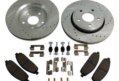 Performance Brake Kit (Front Drilled & Slotted) (RT31008 / JM-03371 / RT Off-Road)