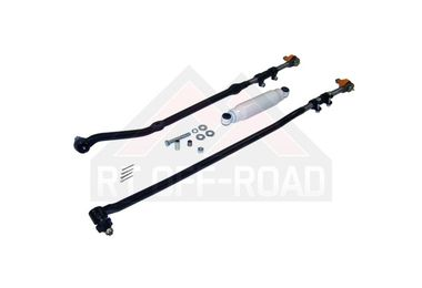 Heavy Duty Steering Kit w/ Stabilizer (RHD) (HDSTRGCR4/RT21007 / JM-00794 / RT Off-Road)