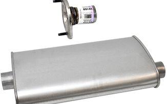 Muffler 2.8-L. Diesel - Cherokee KJ: 02 - 07 (0206.50 / JM-03309 / DuraTrail)