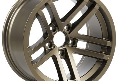 Jesse Spade Wheel, 17X9 (ET-12), Bronze (15303.89 / JM-05590 / Rugged Ridge)
