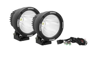 "4.5"" Cannon 25 Watt LED Driving Lights x 2 Kit (CTL-CPZ110KIT / JM-01821 / Vision X lighting)"