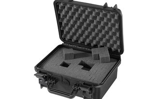 Waterproof Suitcase With Cube Cut Foam / Black / Small (SBOX016 / JM-04724 / Front Runner)