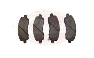 Brake Pad Set, Front (5191217AA / JM-00545 / Crown Automotive)