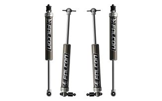 "Falcon Series 2.1 Shock Set, 4dr JK 3-3.5"" Lift (03-01-21-400-253 / JM-04199 / TeraFlex)"