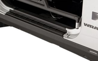 Textured Plastic Rocker Panels (2 Door JK) (1524.21 / JM-01358 / Bushwacker)