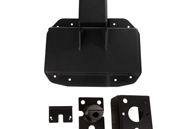 Spartacus HD Tire Carrier Wheel Mount, JL, (11546.57 / JM-04679 / Rugged Ridge)