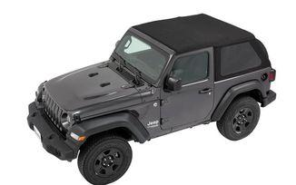 Trektop NX, Jeep JL 2 Door, Black Diamond (56862-35 / JM-03872 / Bestop)