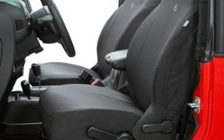 Front Seat Covers, Wrangler JLU, Black Diamond (29290-35 / JM-05105 / Bestop)