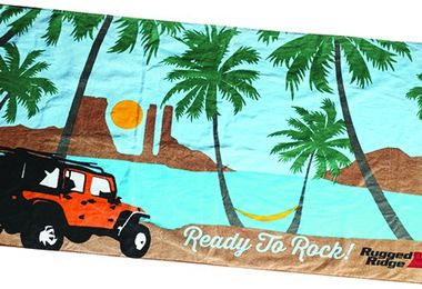 Beach Towel, Rugged Ridge (14230.01 / JM-04323 / Rugged Ridge)