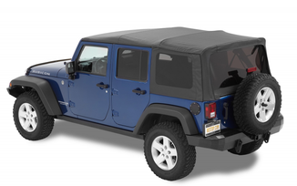 Supertop NX Soft Top, Black, JK 4 Door (54723-35 / JM-01101 / Bestop)
