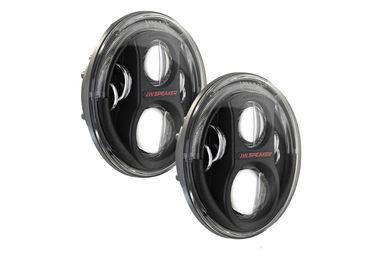 "7"" LED Headlights, 8700 Evolution J2  Dual Burn (Black) (11J2BLUKKIT / JM-04352 / J.W. Speaker)"