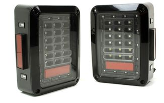 Rear LED Tail Lights, JK (TF4120 / JM-04128 / Terrafirma)