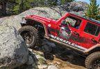 Aluminum Rock Slider Kit, JKU (4637310 / JM-05021 / TeraFlex)