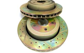 Rear Performance Brake Disc / Rotor (Pair), WK SRT8 (J4BM47521/5290731AB / JM-05399 / Terrafirma)