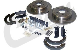 Disc Brake Service Kit (Rear) (52089275K / JM-04013 / Crown Automotive)