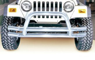 Front Bumper, Tube Stainless Steel (11563.01 / JM-02270 / Rugged Ridge)