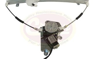Window Regulator Assembly (Front Right), KJ (4589268AC / JM-01615 / Crown Automotive)
