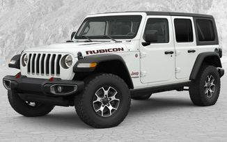 High Top Fender Flares, JL 4 Door (82215742 / JM-04540 / Mopar)