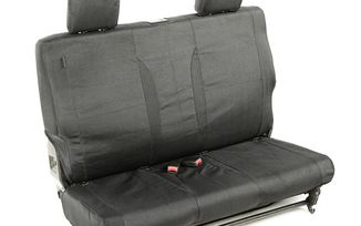 Elite Ballistic Seat Cover (Rear, Black) JK 11-18 (13266.03 / JM-01199 / Rugged Ridge)