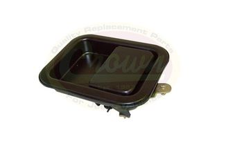 Paddle handle, Door [RH], CJ & YJ (5758172-BLK / JM-01389 / Crown Automotive)