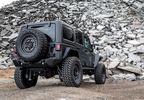 Armory, GunBlack, 20x9.5 (ET-18) (2095ARY-85127G71 / JM-04494 / Black Rhino Hard Alloys)