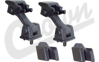 Hood Catch Kit, TJ (55176636K2 / JM-01252 / Crown Automotive)