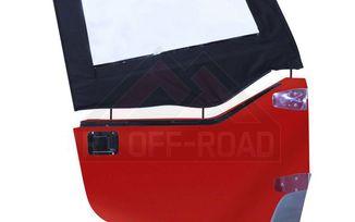 Upper Door Skins (Pair), Black Denim, TJ (DS10115 / JM-01317 / RT Off-Road)