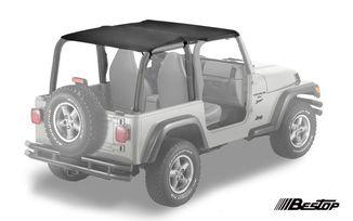 Safari Bikini Soft Top, Black, TJ (52530-15 / JM-01157/LS / Bestop)