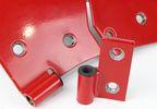 Door Hinge Liners, CJ, YJ, TJ (70005 / JM-04523 / Kentrol)