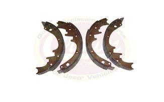 "Brake Shoe and Lining Set, (10"" Drum) (J8133818 / JM-01268 / Crown Automotive)"