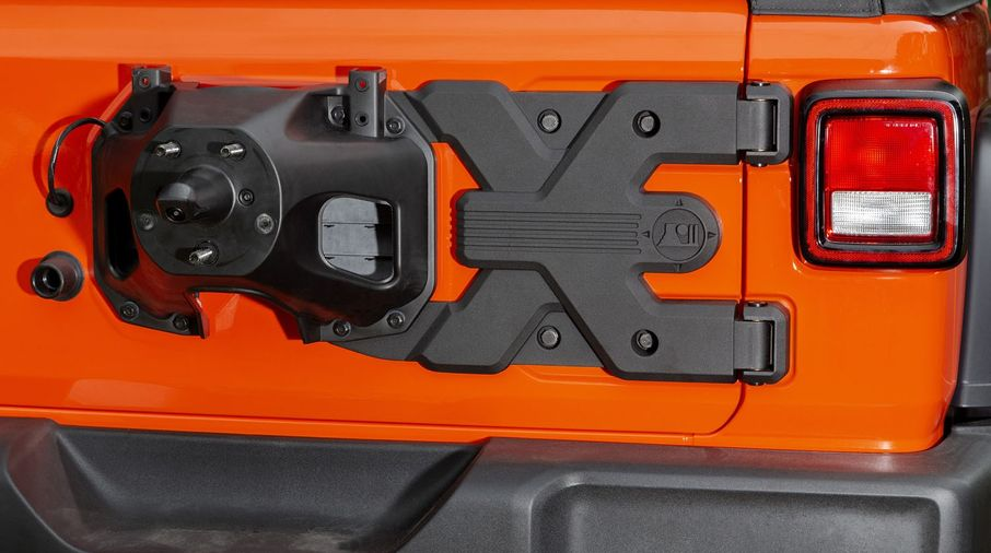 Spartacus HD Tire Carrier Hinge Casting, JL (11546.56 / JM-04532 / Rugged Ridge)
