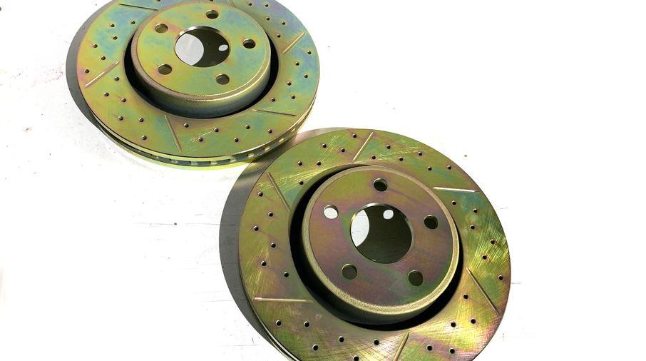 Front Performance Brake Disc / Rotor (Pair), 330mm, WK2 (J4BM47493 / 52124762 / JM-05390/I / Terrafirma)